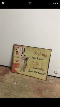 Nothing Says Lovin like something from the oven wall decor Marysville, 95901