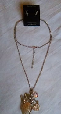 2 piece Necklace and Earrings set (for pickup) Alliance, 44601