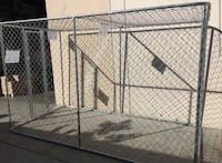 New dog kennel 10ft x 5ft x 6ft cyclone fence dog cage in box - $230 2271 mi