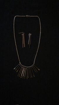 Necklace and Earrings 602 km
