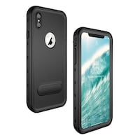 Military Grade Water Proof Premium Quality iPhone Case-Black/iPhone X New Orleans, 70125