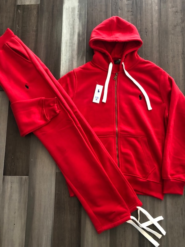 how to purchase quality and quantity assured arrives Ralph Lauren Polo Hoodie Sweatpants Set