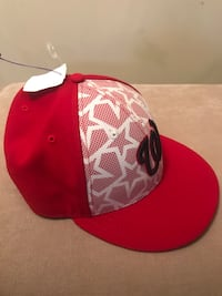 Nationals' 2016 July 4th Stars N Stripes Fitted Hat Falls Church, 22041