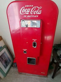 50's era coke machine with working compressor