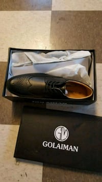 Brand New Black Oxford dress shoes with box Rockville, 20850