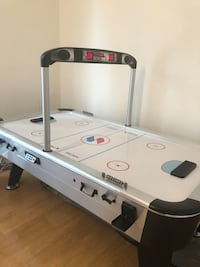 white and black air hockey table Montgomery Village, 20886