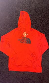 North Face Hoodie (Red And Black) Alexandria, 22312