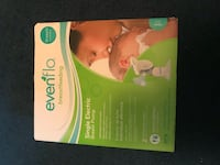 White and green evenflo single electric breast pump - new in box never opened  Alexandria