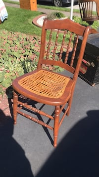 Chair- Canes, has some damage on the caning Whitehall, 18052