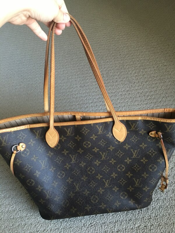 018f730e14fe Used Authentic Louis Vuitton Neverfull mm monogram for sale in ...