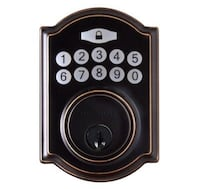 New, never used, electronic  deadbolt Miami, 33176