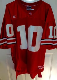 Troy Smith Ohio State Buckeyes Football Jersey Mens 2XL
