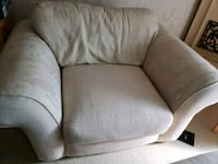 gray fabric padded sofa chair Bedford, 44146