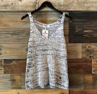 Navy & White Sweater Tank Top Tulsa, 74133