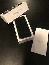 Black iphone 5 with case Burnaby, V5E 3X7