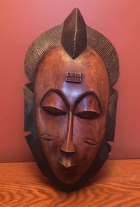 Wooden African Mask  New York, 10027