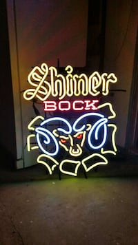 Shiner Book neon sign Reedley, 93654