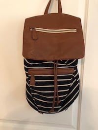 black and brown leather crossbody bag Alexandria, 22306