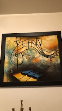 Music oil Gorgeous painting!  New York, 11375