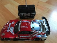 black and red RC car toy 549 km