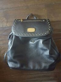black leather 2-way bag Whitby, L1N 5L4