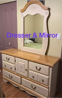 night table and Dresser & mirror(also a desk and hutch) 100  Abbotsford, V2T