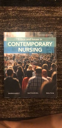 Ethics and issues in Contemporary Nursing Toronto, M8Z