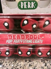 DEADPOOL POP party string lights   Gaithersburg, 20886