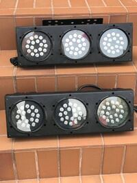 2 CHAUVET PROFESSIONAL COLOR ado 3p IP LED Light Set of 2  You will be receiving 2 sets.  CHAUVET PROFESSIONAL COLORADO3P  Highlights  IP66 Weatherproof Rated  DMX Control   [PHONE NUMBER HIDDEN] K Color Temperature  Built-in Automated Programs  100 to 24 Toronto