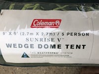 Coleman tent and camping supplies Edmonton, T5J 5C5