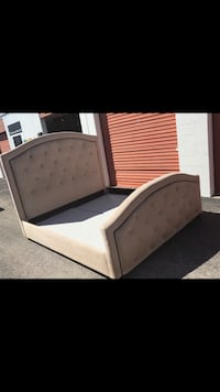 King Bed Frame From City Furnitures