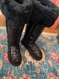 NEW Ugg Uggs Bailey Button Over the Knee Sequin Boots Washington, 20016