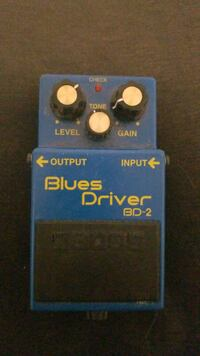 Boss bd-2 blues driver guitar pedal Norfolk, 23517