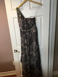 Grey print formal dress Toronto, M6L 1G5
