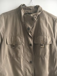 Light Brown  Silky Spring Jacket Toronto, M5S 1Z7