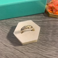 Real 10K Gold Ring with Diamond Size 7 1.6g Surrey, V3R 5X9