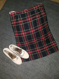 Plaid skirt and nude pumps Rock Hill, 29730