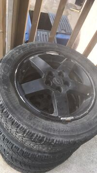 Chevy cobalt rims with winter tires. Innisfail, T4G 1G3