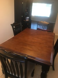 Mahogany Dining table and China Thousand Oaks, 91362