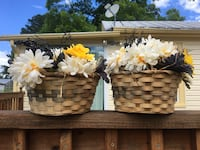 Twin Basket Arrangement  Capron, 23829