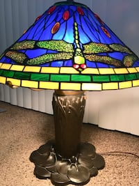 black and green floral table lamp Miami, 33173
