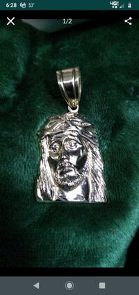 14k Gold Jesus Necklace Pendant Concord, 03301