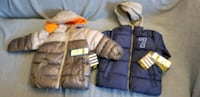 New toddler jackets 2t and 3t  Attleboro, 02703