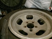 14 inch road runner wheels 2 are offset plus 2 are