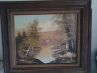 framed fishing pic & frame nature pic TAMPA