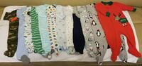 Carter's boy footed pajamas 3-6M/6M