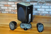 Tannoy Arena Subwoofer, Center Channel, Left & Right Speakers Berkeley