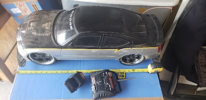 New Bright R/C Dodge Charger/media player