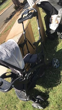 baby's black and gray stroller Riverside, 92503