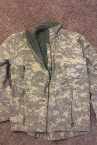 Army fleece jacket
